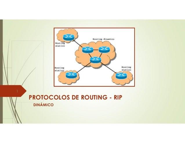 PROTOCOLOS DE ROUTING - RIP DINÁMICO 1