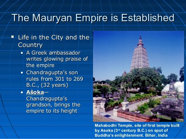 "a biography of the life and rule of asoka from the mauryan dynasty Ashoka was an indian emperor of the maurya dynasty  he was highly  regarded in his lifetime for his enlightened rule and concern for his citizens  in  later life, he was referred to as priyadarsin (""he who regards everyone."