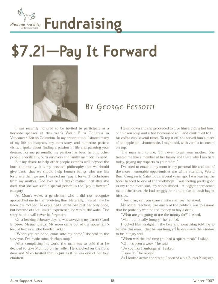 7.21 Pay It Forward