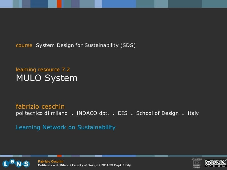 7.3 mulo system ceschin