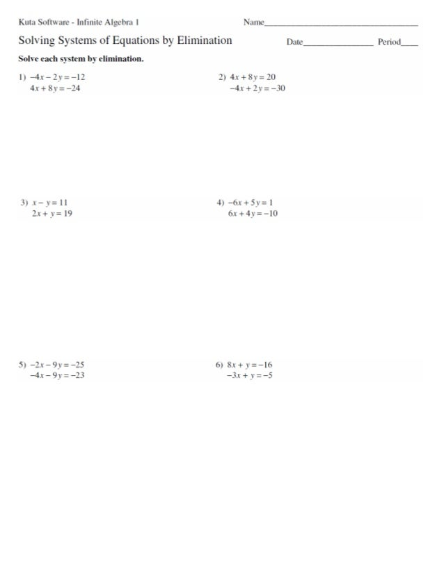 7.3 systems of equations elimination
