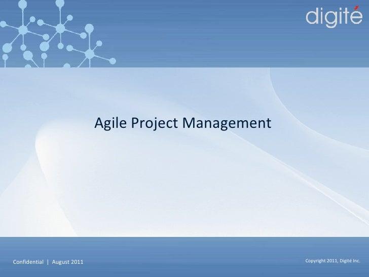 Digite - Project Management Training