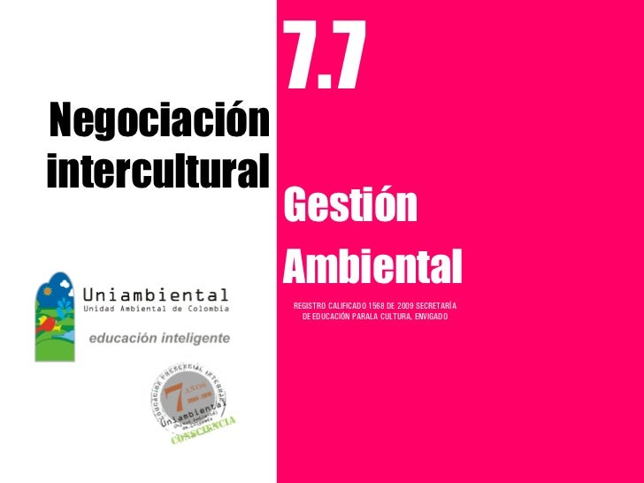 Negociación intercultural 7.7