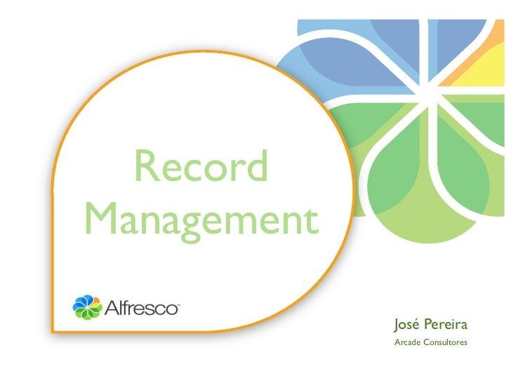 Alfresco Records Management, en español