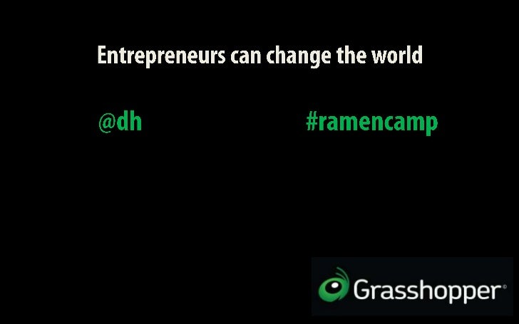 David Hauser - Culture: Entrepreneurs Can Change the World