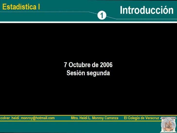 7 de octubre de 2006