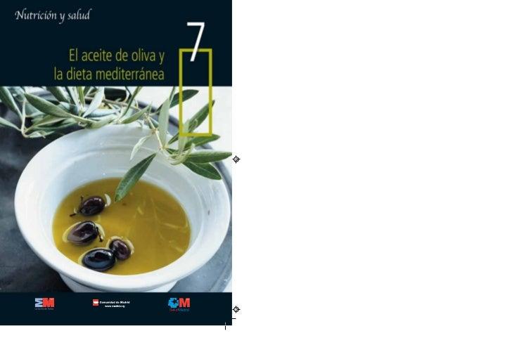 El aceite de oliva y la dieta mediterránea