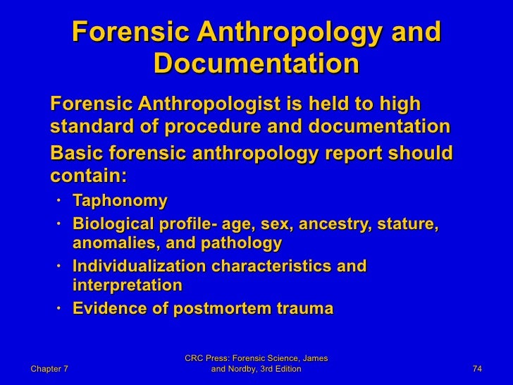 the steps of forensic anthropology essay Anthropology essays writing help and assistance - get an a today anthropology paper due soon hire a professional academic writer to help you out no plagiarism.