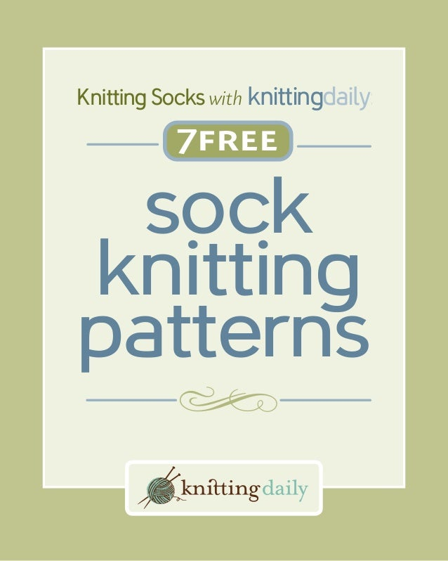 7 free-sock-knitting-patterns