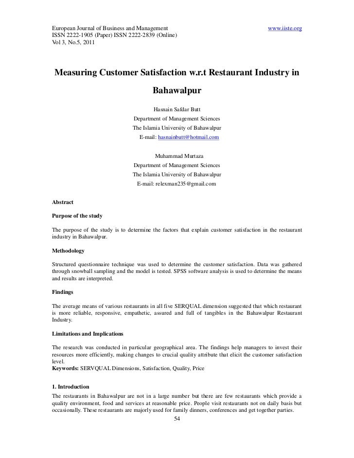 European Journal of Business and Management                                                   www.iiste.orgISSN 2222-1905 ...