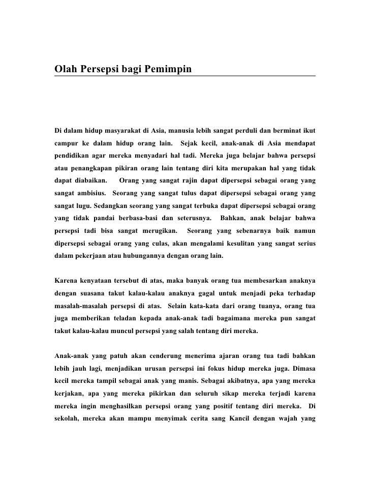 7. Mengelola Persepsi