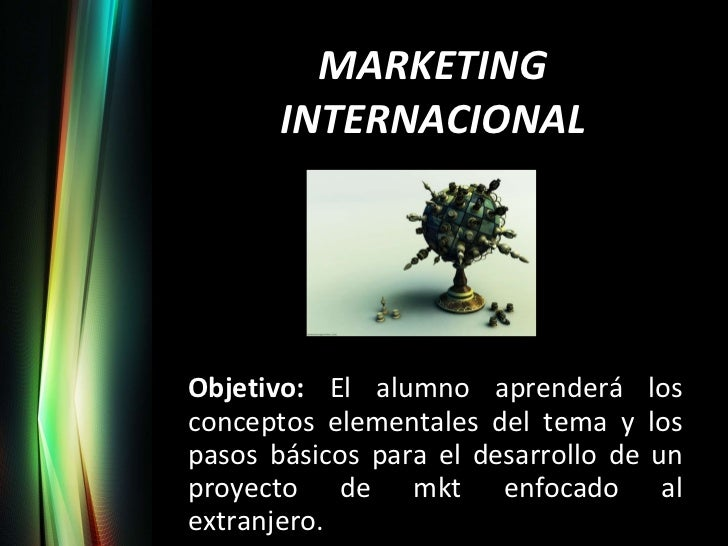 7. Marketing Internacional