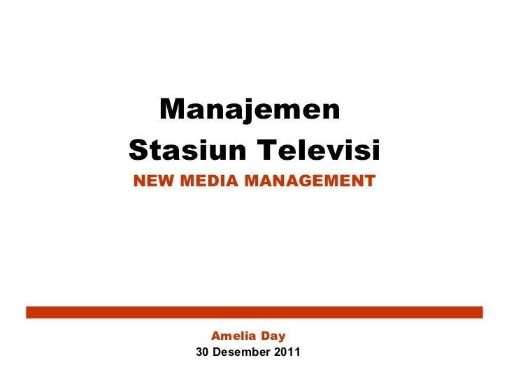 New Media Management (MSTV)