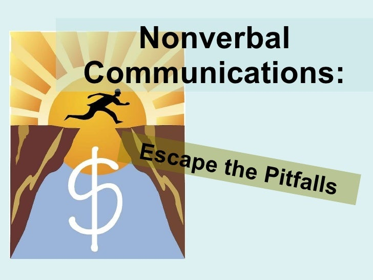 7. nonverbal communications