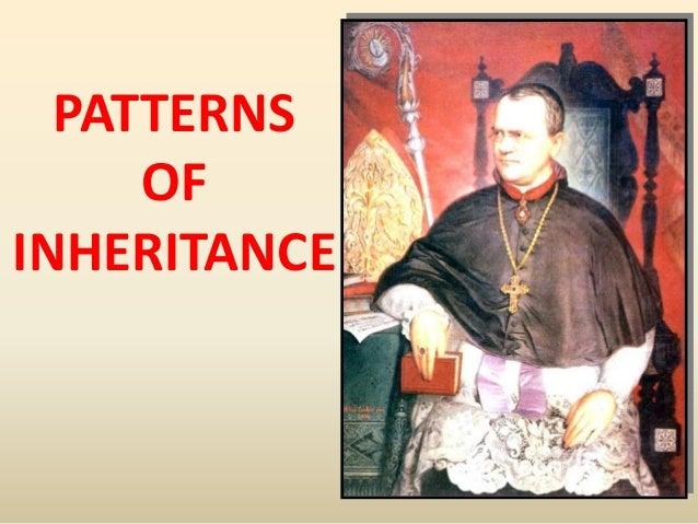 7. Patterns of Inheritance