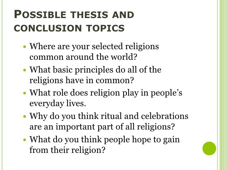 essay on religion Enjoy the great compare and contrast essay sample on the judaism and christianity that provides information about origins, beliefs and worships of both religions.