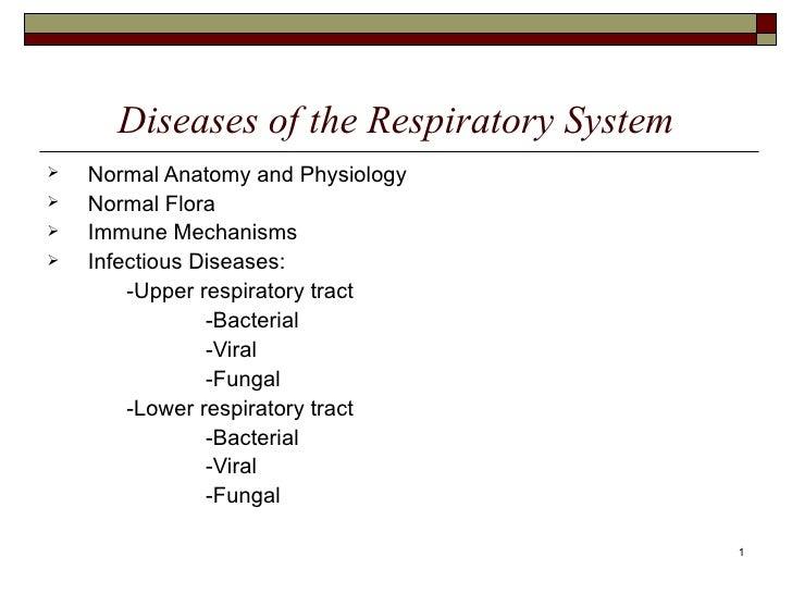 7  respiratory