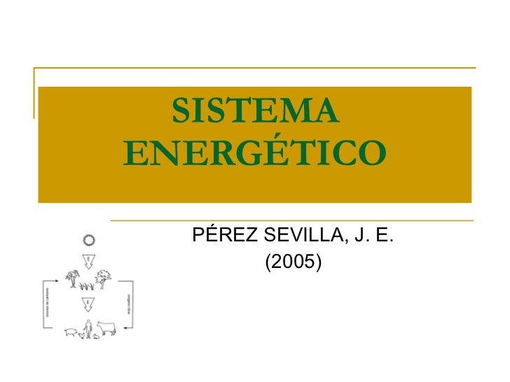 Sistema energético