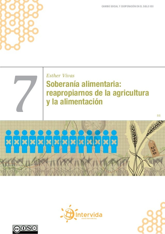 7 soberania alimentaria- reapropiarnos de la agricultura y la alimentacion