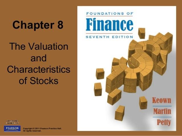 8. stock valuation