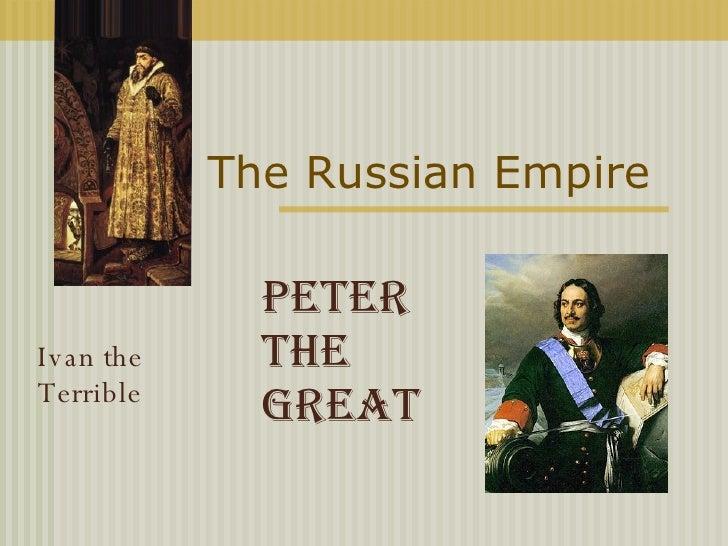 7. The Russian Empire