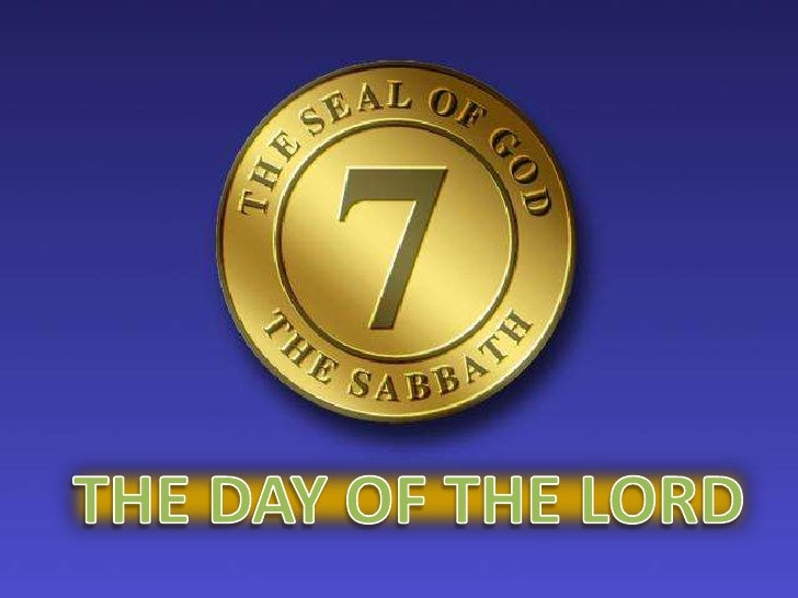 THE DAY OF THE LORD<br />