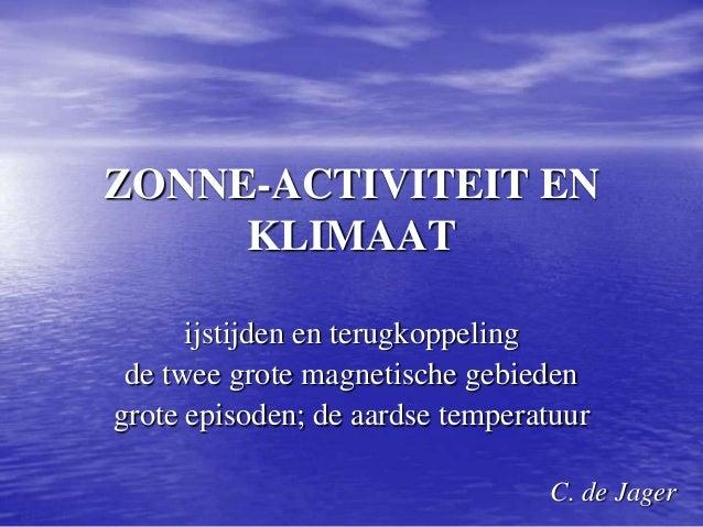 zon en klimaat 2014