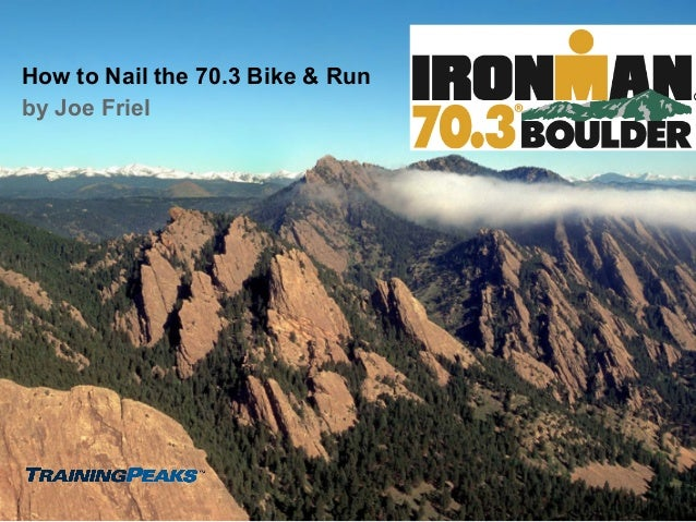 How to Nail the Boulder 70.3