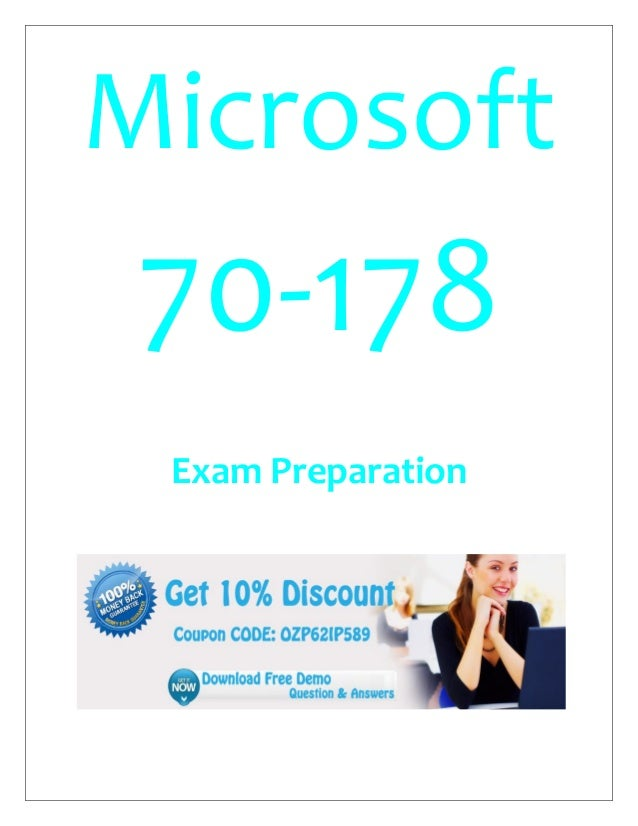 Microsoft 70-178 Exam Preparation