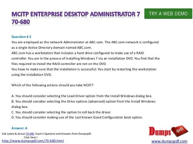 Learn mcitp pdf