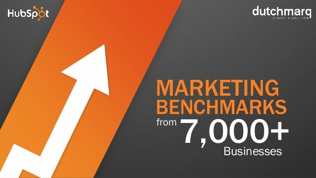 7,000+Businesses from MARKETING BENCHMARKS