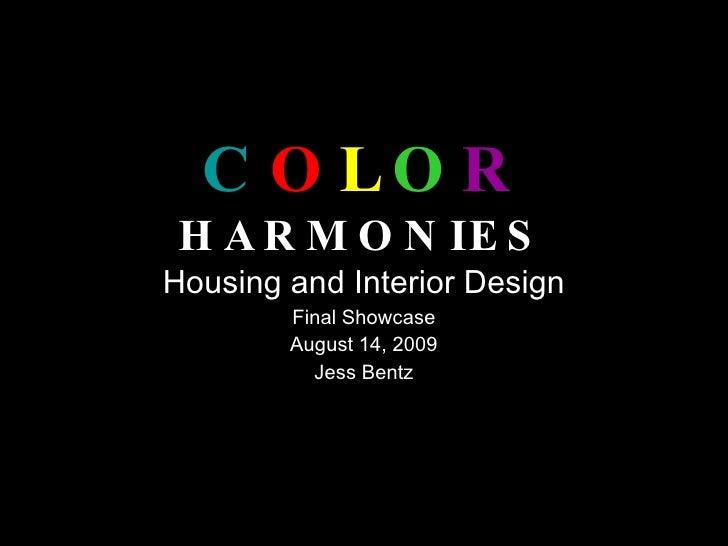 Colro Harmonies Showcase