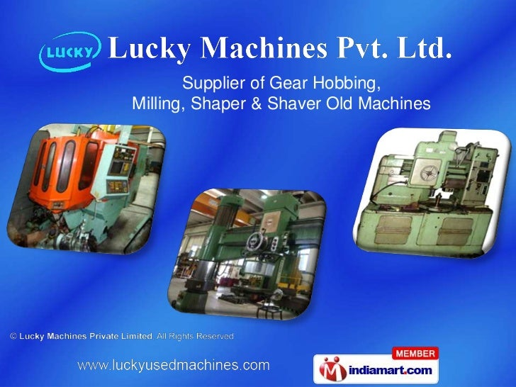 Lucky Machines Private Limited Haryana India
