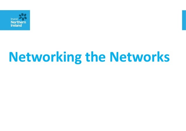 Networking the Networks - Combined presentations