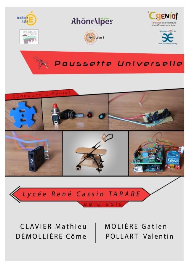 Table des matières poussette.universelle@gmail.com Table des matières Présentation et introduction Présentation du groupe ...