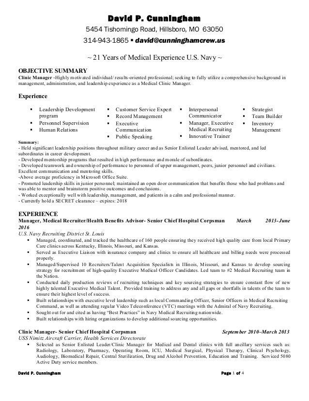 David Cunningham Linkedin Resume