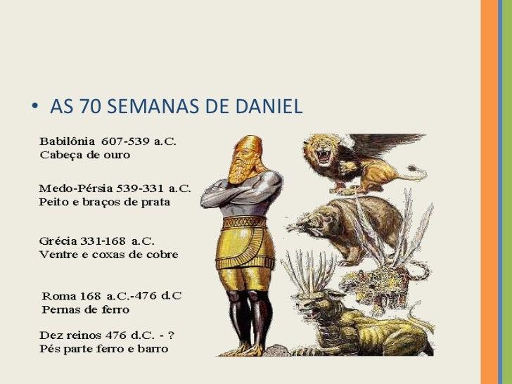 AS 70 SEMANAS DE DANIEL<br />
