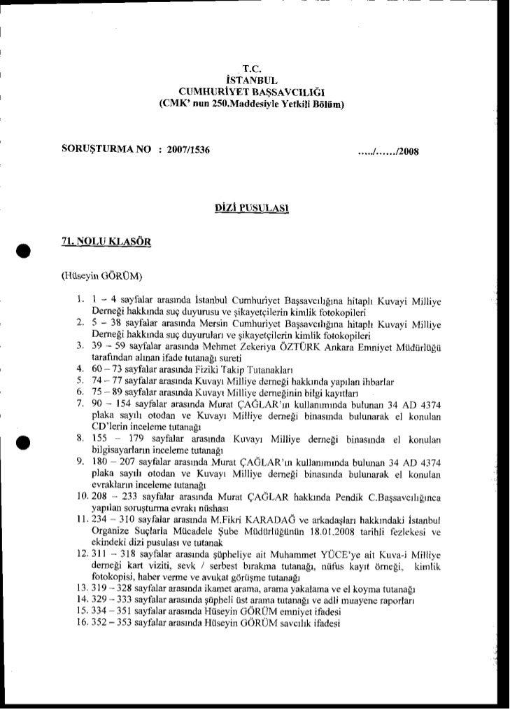 T.C.                                  iSTANBUL                         CUMHURIYET BA$SAVCILIEI                      (CMK' ...