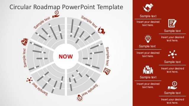Road Map Powerpoint Template
