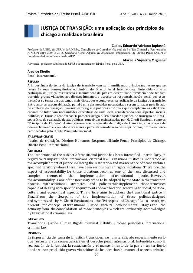 Revista  Eletrônica  de  Direito  Penal    AIDP-‐GB                             ...