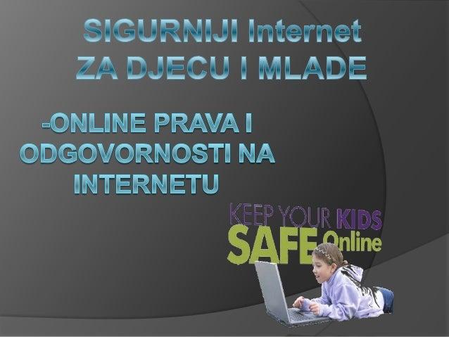    Internet je javno dostupna globalna    paketna podatkovna mreža koja zajedno    povezuje raĉunala i raĉunalne mreže   ...