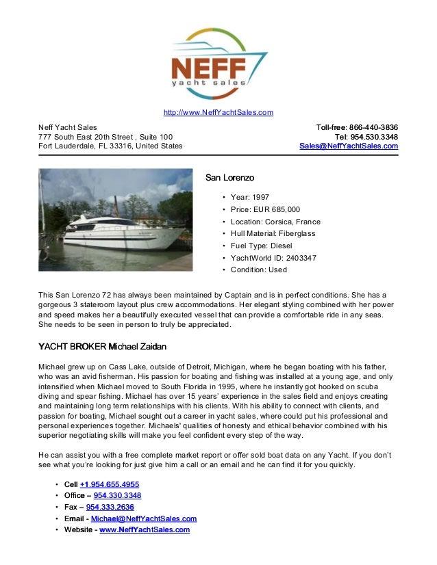 72' 1997 san lorenzo yacht for sale   neff yacht sales