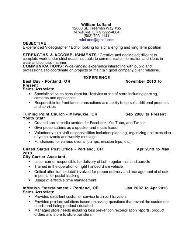 Videography Resume Resume Help Weddingbee Video Editor Resume Reference  Letter Sample For Kindergarten  Mail Carrier Resume