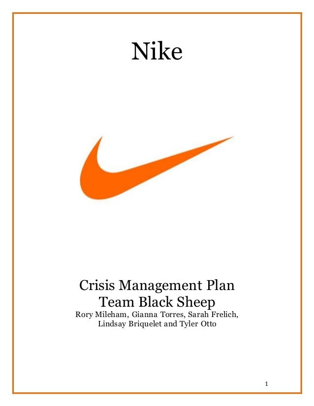 nike case study ethics Nike's labor practices - nike, cbs news, vietnam labour watch, the case  describes the maltreatment of employees and sweatshop conditions in nike's  asian.