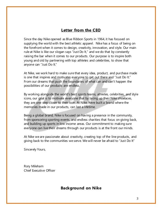 Marketing And Events Cover Letter