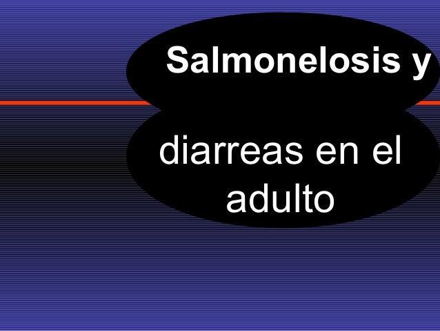 FISIOLOGIA DE LA DIARREA PROVOCADA POR SALMONELOSIS