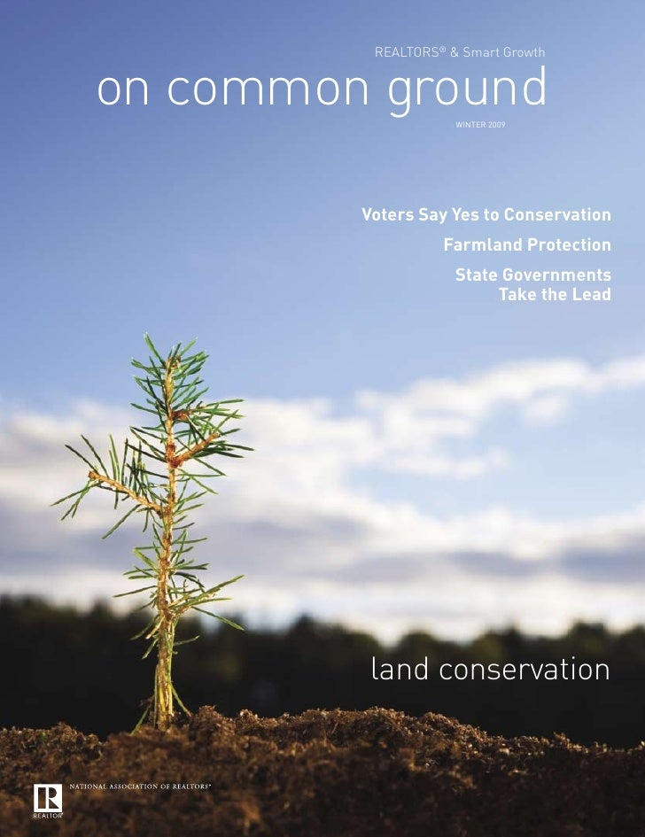 Smart Growth: On Common Ground: Winter09