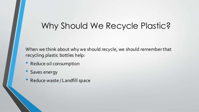why we recycle When we recycle, materials are converted into new products, reducing the need  to consume natural resources which will help to protect natural habitats for the.