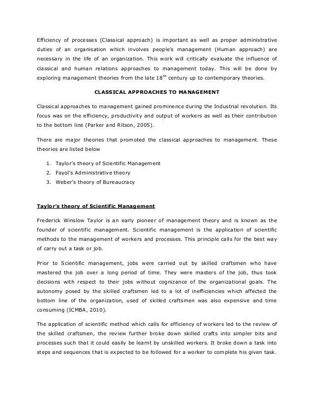 hawthorne studies and human relations pdf