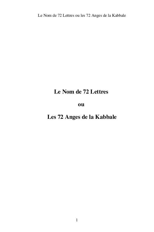 LeNomde72Lettresoules72AngesdelaKabbale         LeNomde72Lettres                         ou     Les72An...